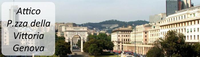 Attico Piazza della Vittoria - Genova